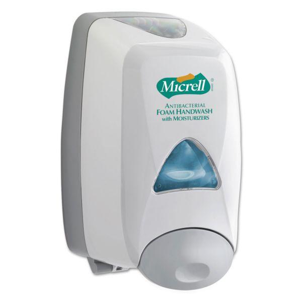 GOJO FMX-12 Soap Dispenser, 6 1/5w x 5-1/10 d x 9-4/5h, 1250 ml, Dove Gray
