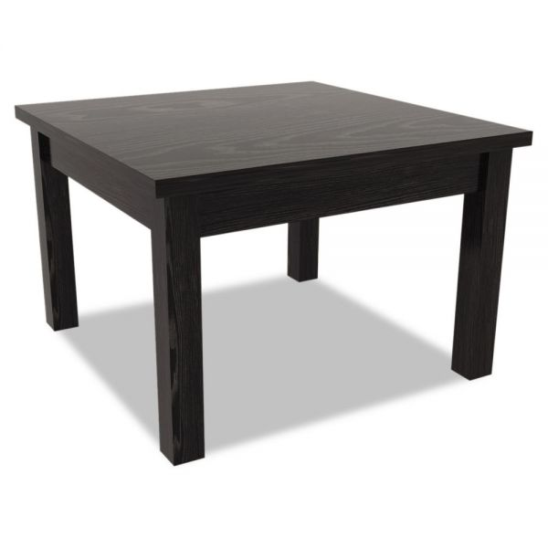 Alera Alera Valencia Series Occasional Table, Square, 23-5/8 x 23-5/8 x 20-3/8, Black