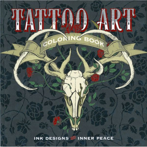 Lark Books: Tattoo Art Coloring Book