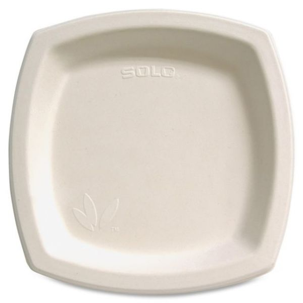 """Solo Bare 8"""" Bagasse Plates"""