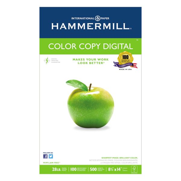 Hammermill Color Copy Digital White Copy Paper