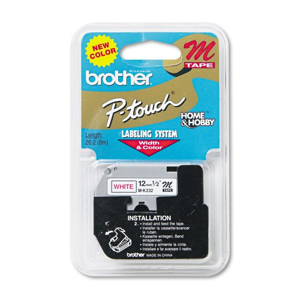 Brother M Series P-Touch Tape Label Cartridge