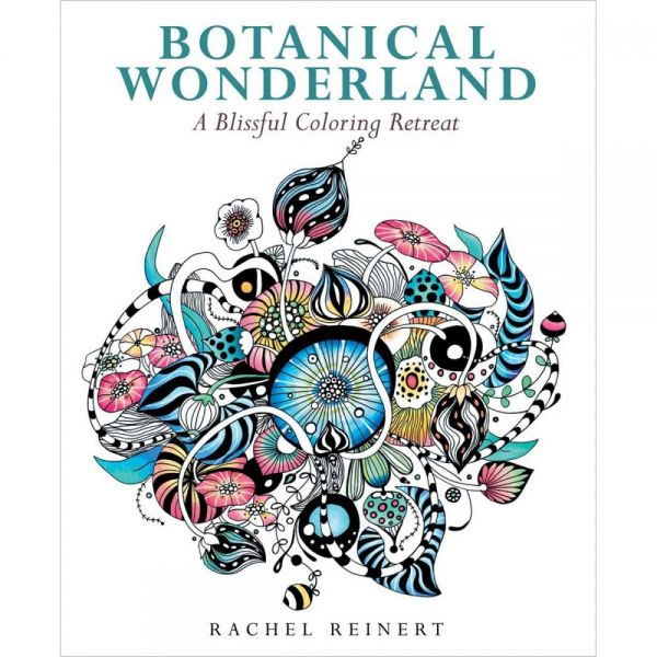 Sterling Publishing: Botanical Wonderland Coloring Book