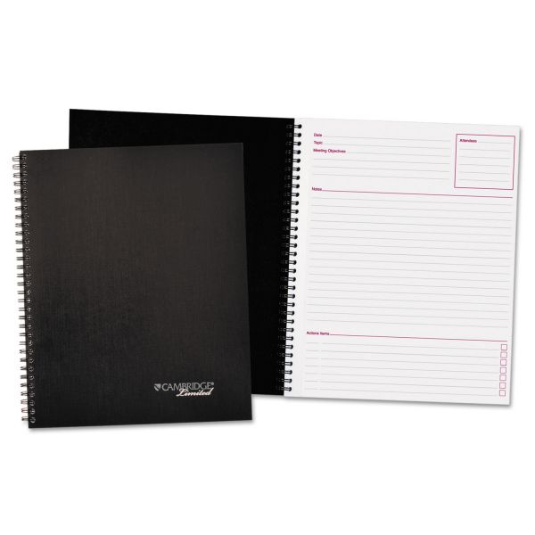 Cambridge Limited Meeting-Notes Business Notebook