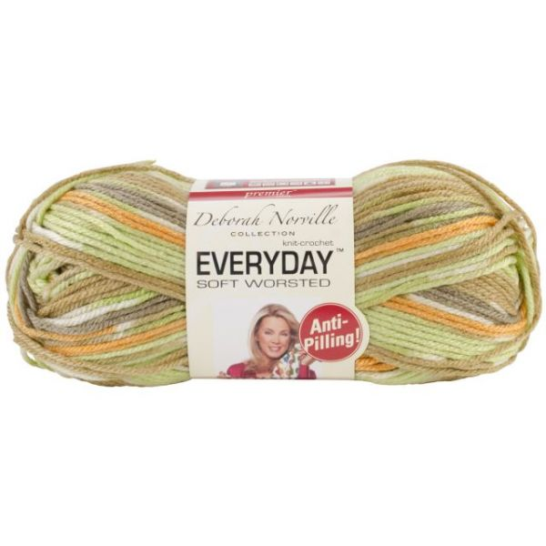 Deborah Norville Collection Everyday Soft Worsted Yarn - Harvest Melon