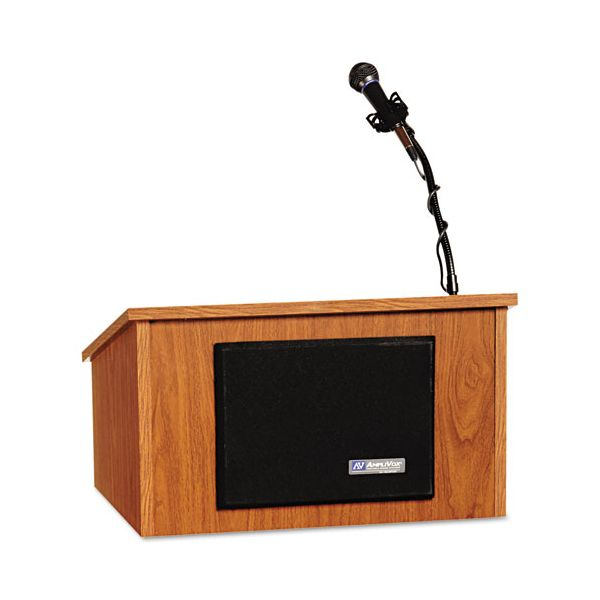 Amplivox S250 Tabletop Lectern With Stereo Amplifier