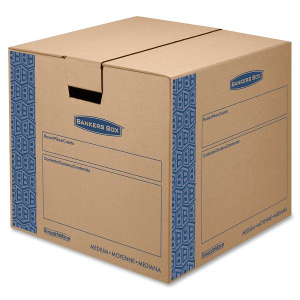 Bankers Box SmoothMove Medium-Duty Moving Boxes