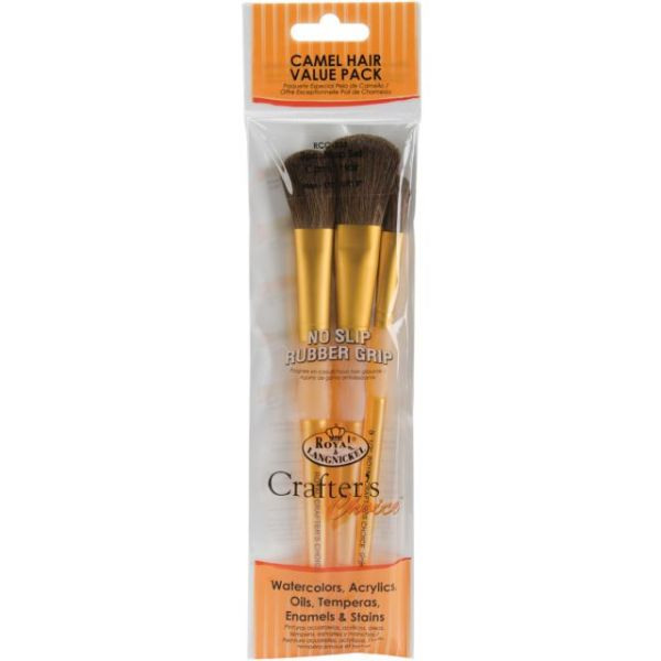 Crafter's Choice Camel Brush Set