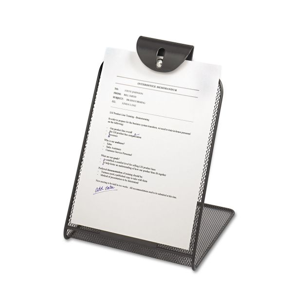 Safco Onyx Mesh Copy Holder