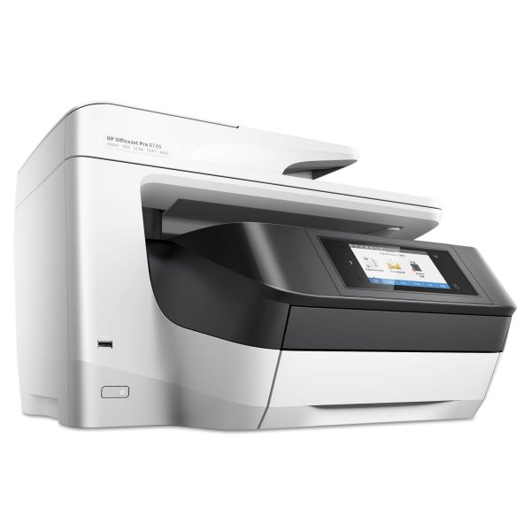 HP OfficeJet Pro 8720 Inkjet Printer, Copy/Fax/Print/Scan