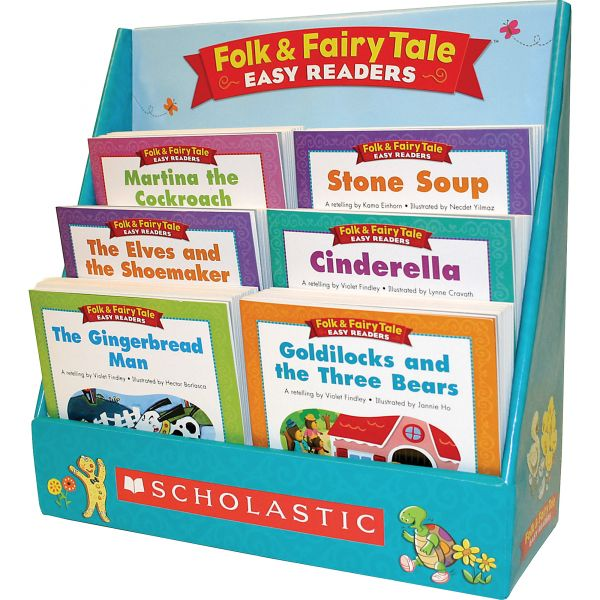 Scholastic Folk & Fairy Tale Easy Readers, Literacy, Grade K-2, Softcover, 112 pages