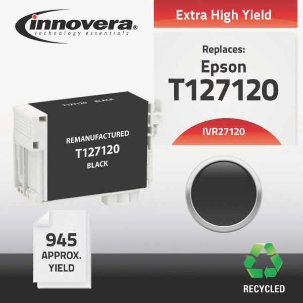 Innovera Remanufactured Epson T127120 (T-127) Ink Cartridge