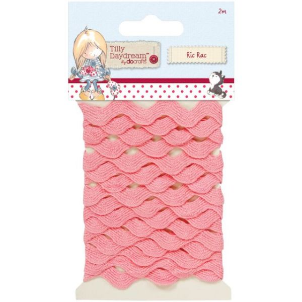 Tilly Daydream Ric Rac Trim 8mm, 2 Meters/Pkg