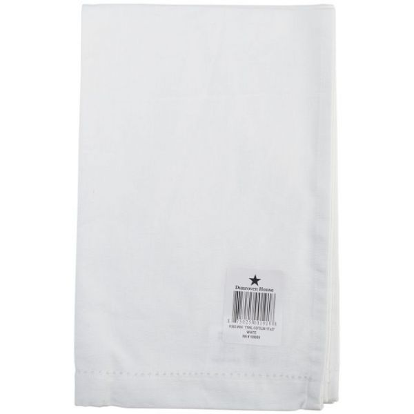 "Cotton/Linen Blend Hand Towel 17""X27"""