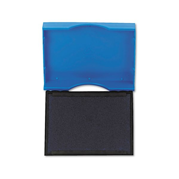 Identity Group Trodat T4750 Stamp Replacement Pad, 1 x 1 5/8, Blue