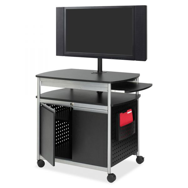 Safco Scoot Flat Panel Multimedia Display Cart