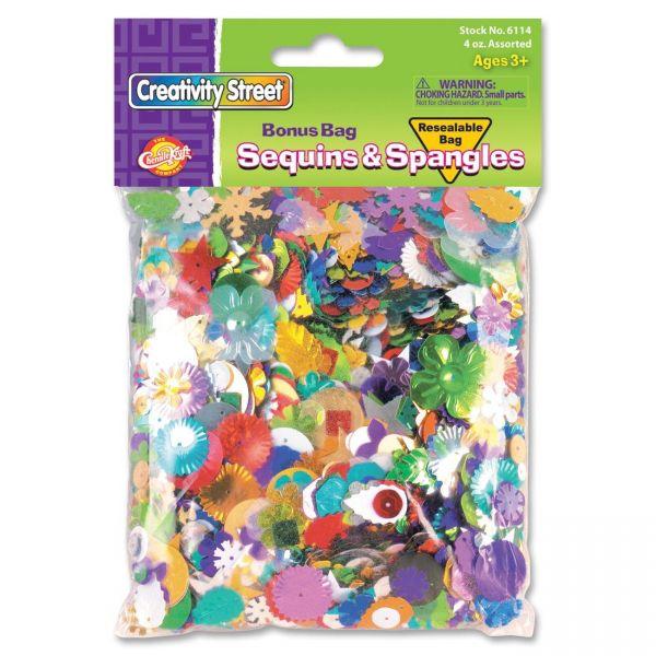 Creativity Street Sequins & Spangles Confetti