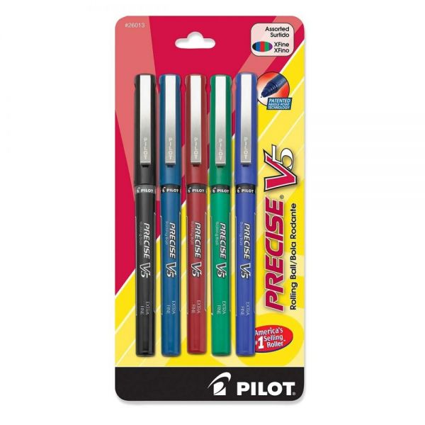 Pilot Precise V5 Rollerball Pens