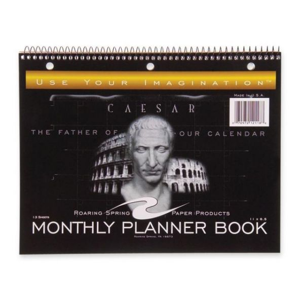 Roaring Spring Monthly Planner