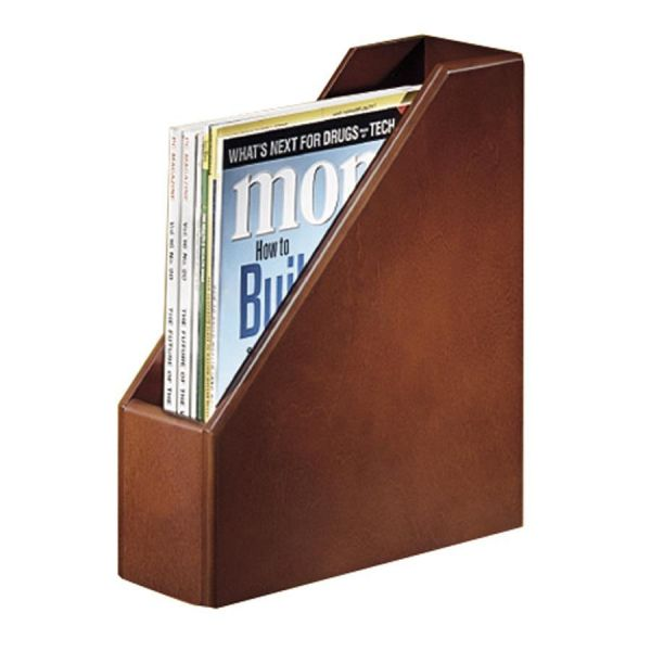 Rolodex Wood Magazine Holder