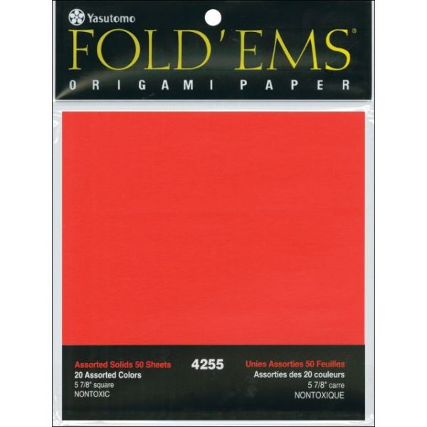 Fold 'Ems Solid Origami Paper