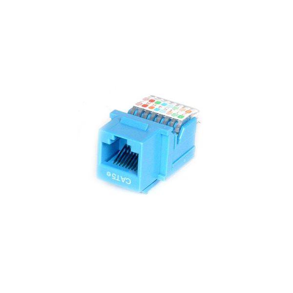 StarTech.com Cat5e Modular Keystone Jack Blue - Tool-Less
