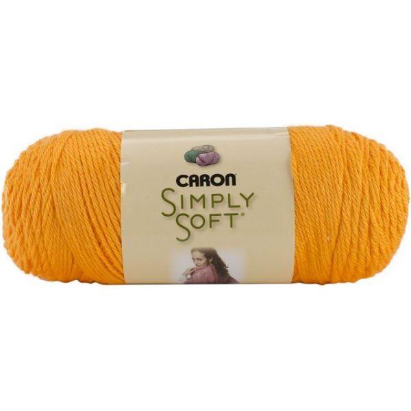 Caron Simply Soft Brites Yarn - Mango