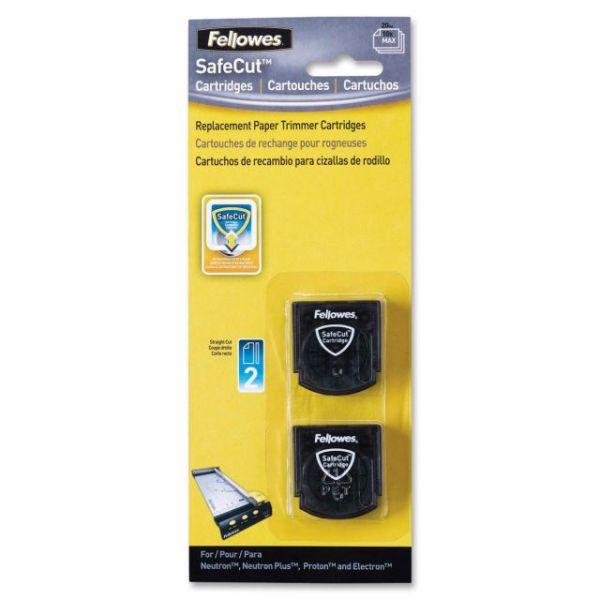 Fellowes SafeCut Rotary Trimmer Blades - 2Pk Straight