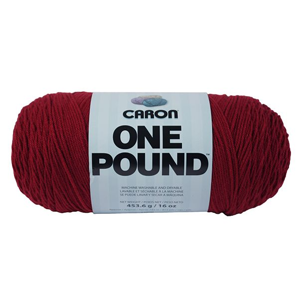 Caron One Pound Yarn - Claret