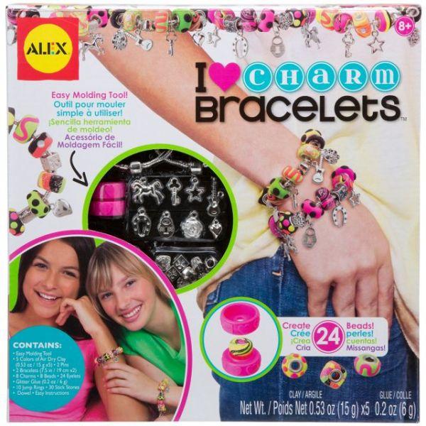 ALEX Toys Do-It-Yourself Wear I ♥ Charm Bracelet Kit