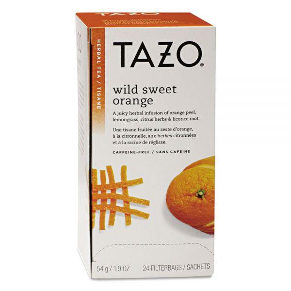 Tazo Tea Bags, Wild Sweet Orange, 24/Box