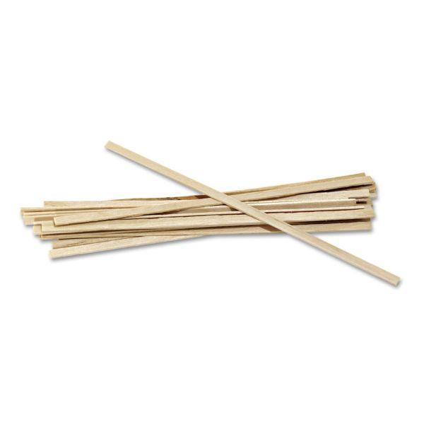 Royal Paper Wood Coffee Stir Sticks