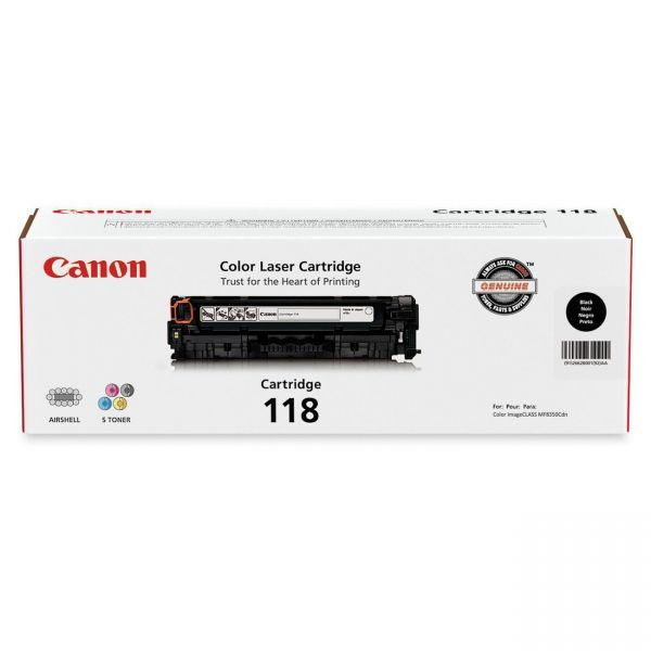 Canon 118 Black Toner Cartridge (CRTDG118-BK)