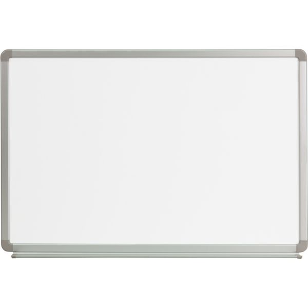 "Flash Furniture 36"" x 24"" Magnetic Dry Erase Whiteboard"