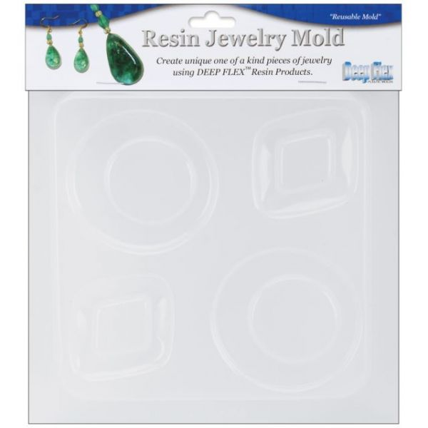 "Resin Jewelry Mold 6.5""X7"""