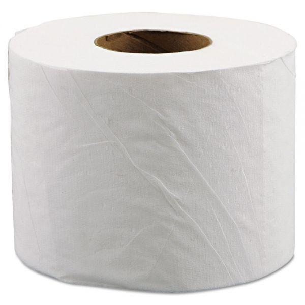 Morcon Paper Morsoft Millennium Bath Tissue, 2-Ply, 600 Sheets/Roll, 48 Rolls/Carton