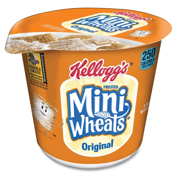 Kellogg's Frosted Mini Wheats Cereal-In-A-Cup