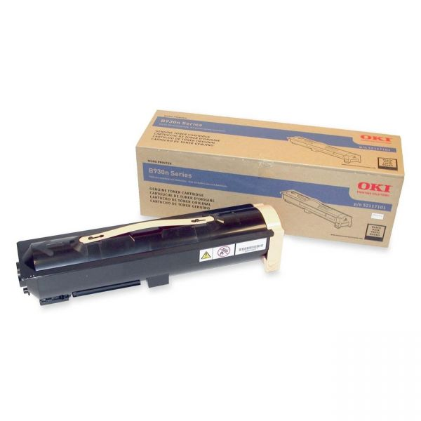 Oki 52117101 Black Toner Cartridge