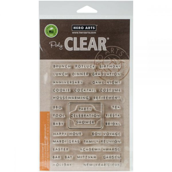"""Hero Arts Clear Stamps 4""""X6"""""""