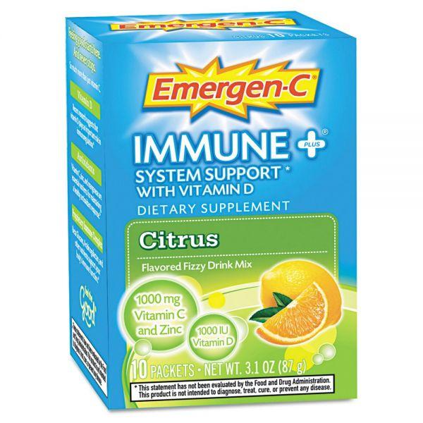 Emergen-C Immune+ Formula