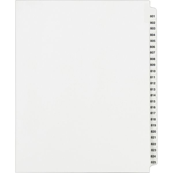 Avery Standard Collated Legal Exhibit Divider Sets - Avery Style