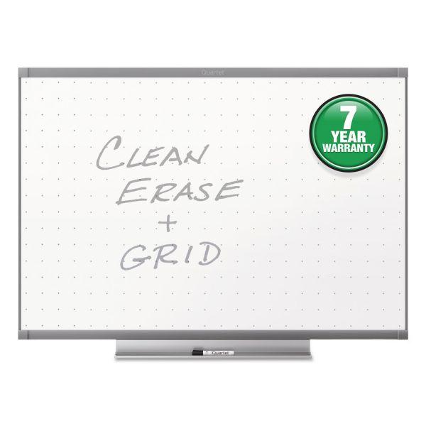 Quartet Prestige 2 Total Erase Whiteboard, 36 x 24, Graphite Color Frame