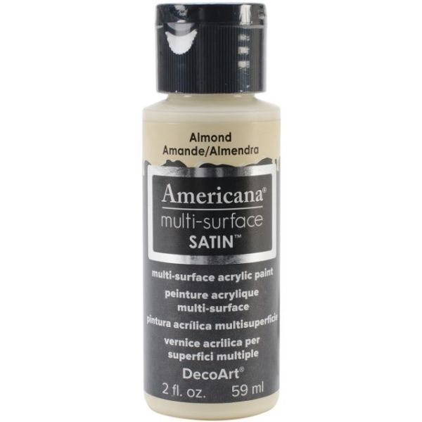Deco Art Americana Multi-Surface Satin Almond Acrylic Paint