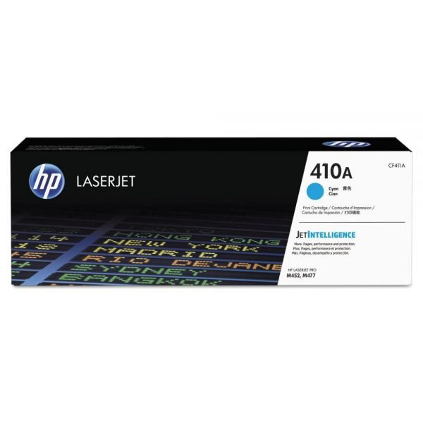 HP 410A Cyan Toner Cartridge (CF411A)