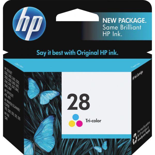 HP 28 Tri-Color Ink Cartridge (C8728AN)