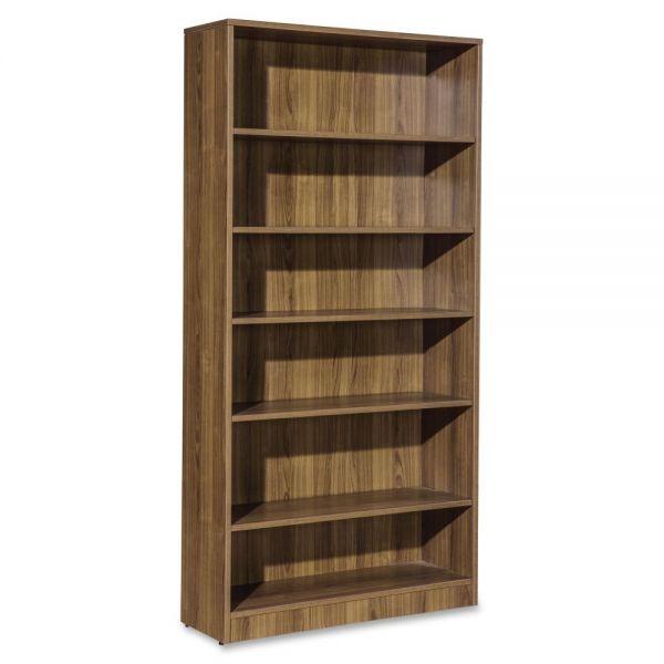 Lorell Essentials 6-Shelf Bookcase