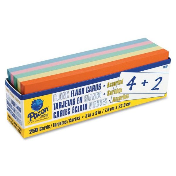 Pacon Blank Flash Cards