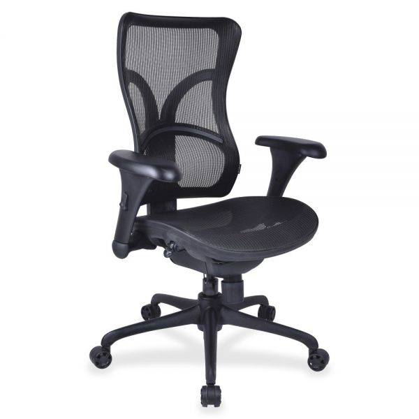 Lorell Full Mesh High Back Adjustable Office Chair