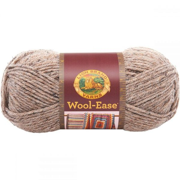 Lion Brand Wool-Ease Yarn - Mushroom