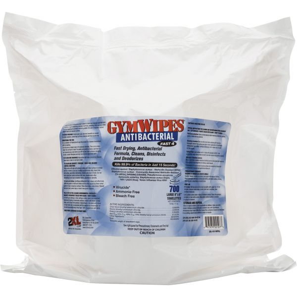 2XL Antibacterial Gym Wipes Refill